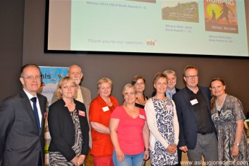 The Icelandic guests: Ambassador Benedikt Jónsson, Aðalheiður Óskarsdóttir, four Icelandic UKLA-conference participants, Áslaug Jónsdóttir, Juilian Meldon D'Arcy, Andri Snær Magnason, Margrét Sjöfn Torp