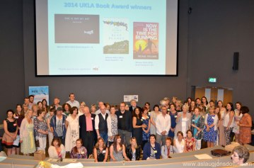 UKLA Book Award: authors and judges