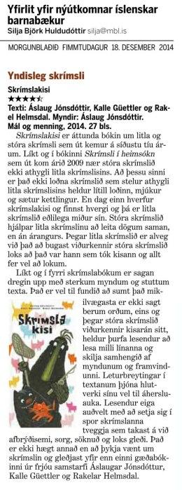 Skrímslakisi-Mbl-18des2014