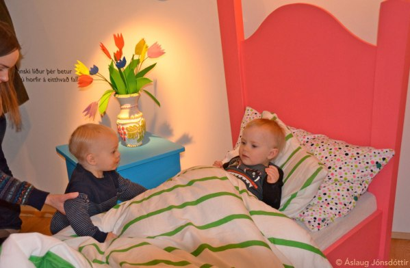If you are tired or sick, try Big Monsters cosy bed, play cards or read a book, sing a song, look at pretty flowers!