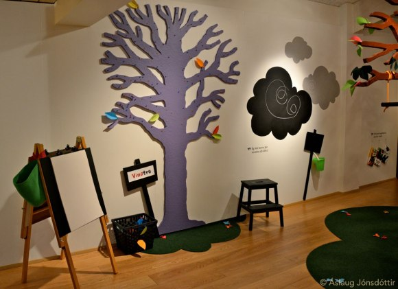 Easels, the Tree of Friends, Black-mood Clouds